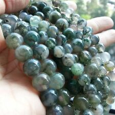Moss Agate Bracelet - Healing stone, Reiki, Crystal therapy - Exclusive