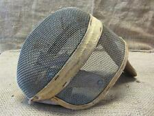 Vintage Castello Fencing Mask   Antique Foil Epee Sword Masks New York 7980