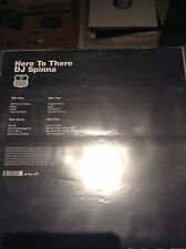DJ SPINNA - Here to There - Vinyl 12 DMC LP Instrumental Acapella! MINT RARE