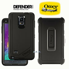 New!!! Otterbox Defender Case Cover For Samsung Galaxy Note 4 - Black