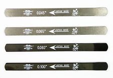 UO-CHIKYU 2507 Nut Files Hiroshima File 4 pcs Set for Electric bass / General