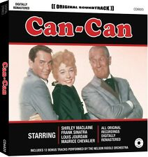 CD CAN-CAN ORIGINAL SOUNDTRACK MACLAINE SINATRA JOURDAN CHEVALIER NELSON RIDDLE