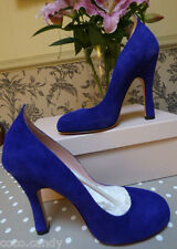 Agent Provocateur 4 4.5 violet suede platform court shoes 36 37 heels NEW in box