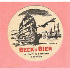Bierdeckel  AI Beck's Bier