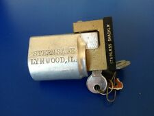 Sternsafe Outboard Motor Lock Stainless Shackle Fits Many Outboard Motors