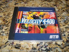 Velocity 4400 High Performance 128-Bit 3D/2D Accelerator Program (PC, New)