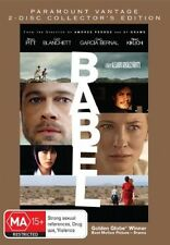 2 disc, BABEL - BRAD PITT. LIKE NEW, R4