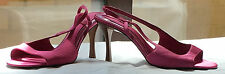 M&S 'the collection' Ladies Pink Satin Sandals, Size 4.5