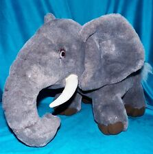 CWC Large Gray African Tusk Elephant Plush GOP Republican Mascot 15 x 23 inches