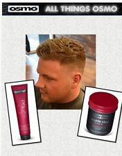 Osmo Matte Clay Extreme Wax &Osmo Curl Fluid(re-create this look)SAMEDAYDISPATCH