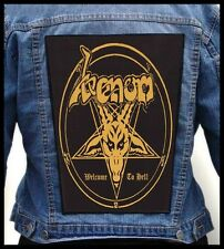 VENOM - Welcome To Hell --- Giant Backpatch Back Patch