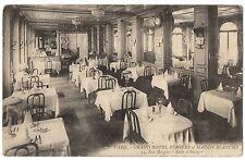 CPA 75 - PARIS 9ème - Grand Hôtel BERGERE et MAISON BLANCHE. Salle à Manger