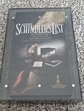 SCHINDLER'S LIST DVD COLLECTOR SET! LTD ED SENITYPE COA PLEXIGLAS CASE + MORE!