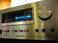 Pioneer CT-F605 Stereo 2-head Cassette Deck VINTAGE 1978 VERY RARE Fluroscan
