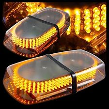 Oval 12V DC 240 LED Emergency Hazard Warning /Mini Bar Strobe Light -Amber