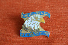 15902 PIN'S PINS ALASKA 1988 EAGLE RIVER AIGLE - RARE