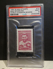 1964 Boxing Slania Stamps Max Schmeling World Champion Boxer Card #10 PSA 9