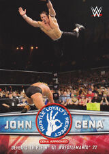 2017 Topps Road to Wrestlemania JOHN CENA Tribute #10