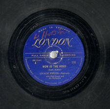 1948 GRACIE FIELDS 78 Record - Now is the Hour/Come Back to Sorrento London 110