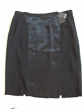 BNWT ALAIN WEIZ LADIES LUXURY LINED BLACK SKIRT UK 22 FR 50 EUR 48