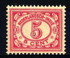 NETHERLANDS INDIES - INDIE ORIENTALI OLANDESI - 1912-1913 - Cifre. -
