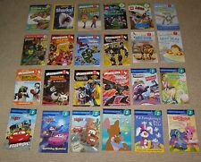 HUGE Lot 24 Level 2 Ready to Read Books Set Boys Sharks Transformers Disney Cars