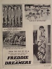 FREDDIE AND THE DREAMERS 1966 Advert BEST WISHES FOR THE NEW YEAR