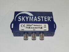 Commutatore switch sat 2 in 1 DiSEqC 2/1 per 2 LNB su un solo cavo