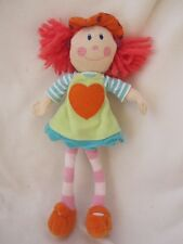 "ELC BOBBLE 14"" PART KNITTTED RAG CLOTH SOCK DOLL SOFT TOY BABY COMFORTER"