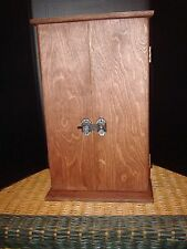Butsudan, red mahogany stain,  19inch tall, bar latch, FREE FREIGHT    USA