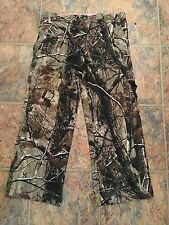 Russell Outdoors Pants Size M Camo Realtree CargoOak Hunter Quest inseam 27