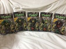 NEW! (5) Teenage Mutant Ninjas Turtles TMNT Action Figures Bonus PC Game 2006