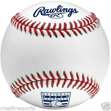 1/2 DOZEN RAWLINGS OFFICIAL BASEBALL HALL OF FAME HOF MLB BASEBALL MANFRED