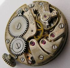 early A. Tissot 15 jewels 2 adj. watch movement for parts