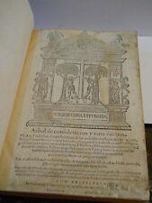 Arbol de consideracion y varia doctrina plantado... by Pedro Sanchez 1584