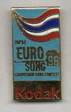 Nice and rare European kodak pin - Eurovision Song Contest NRK media pin