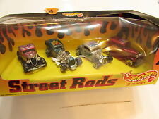 HOT WHEELS TARGET STREET RODS WAY 2 FAST - '32 FORD - 3 WINDOW - 4 CAR PACK -