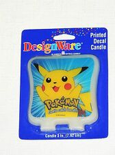 NEW  ~ POKEMON ~ 1- WAX CANDLE   AMERICAN GREETINGS  PARTY SUPPLIES