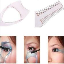 3in1 Makeup Tool Mascara Applicator Guide Tool Curler Eyelash Comb