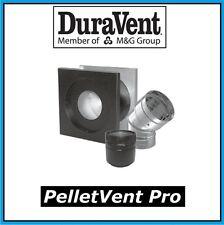 """DURAVENT PELLETVENT PRO Pipe 3"""" Horizontal Venting Kit #3PVP-KHA NEW!"""
