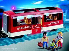 NEW Playmobil 6342 Passenger Train Car Carriage Panorama Express 4124 4397 LGB