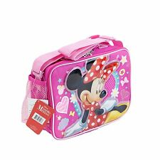 Disney Minnie Kids School Lunch Box Pink For Girls Licensed NEW
