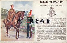 WW1 Military Art History & Traditions Essex Yeomanry Gale & Polden