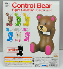 Control Bear Figure Keyring Mascot Set, 7pcs + 1 display card.  Koro Koro  , h#1