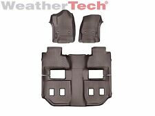 WeatherTech FloorLiner for Chevy Suburban w/ 2nd Row Bucket - 2015-2016 - Cocoa