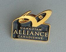 Canadian Alliance Canadienne Lapel Hat Souvenir Pin