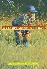 A Coach's Letter to His Son, Allen, Mel, Good Condition, Book