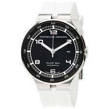 Porsche Design P'6350 Flat 6 Black Dial Automatic Mens Watch 6350.42.44.1256
