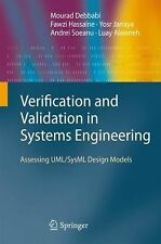 NEW Verification and Validation in Systems Engineering by Mourad Debbabi Hardcov