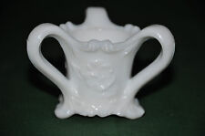 "VINTAGE KEMPLE MILK GLASS"" K "" MARK TOOTHPICK HOLDER FREE SHIPPING"